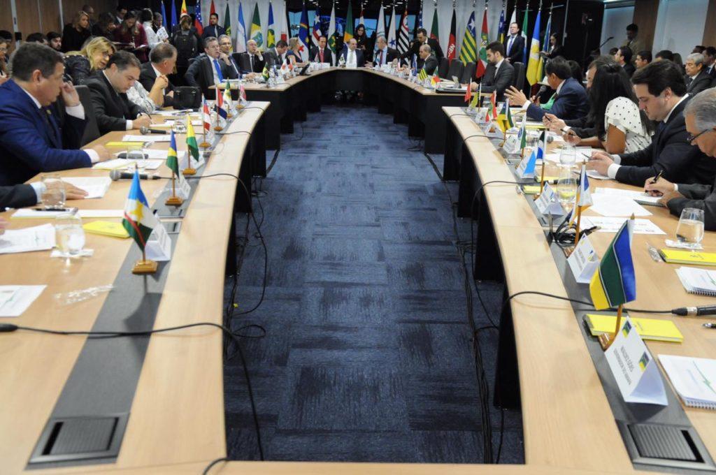 Texto atual da reforma da previdência não agrada a Bahia, diz Rui em Fórum de Governadores. Foto: Paulo Henrique Carvalho/Agência Brasília