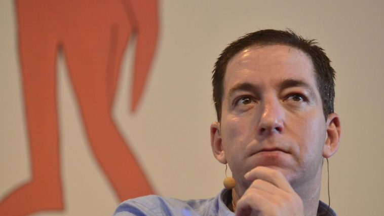 O norte-americano Glenn Greenwald, duarnte o debate da liberdade, mídia e poder na 12ª Festa Literária Internacional de Paraty (Flip). Foto: Fernando Frazão/Agência Brasil