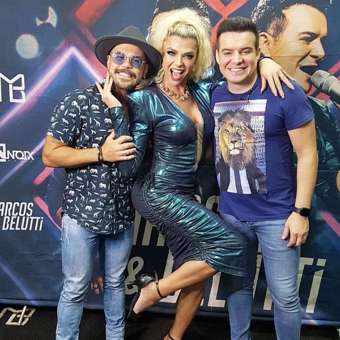 Feira de beleza reúne famosos em São Paulo. Foto:  Renato Cipriano - Divulgação