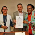 Rui formaliza parceria de R$ 2,4 milhões para projetos de promoção da igualdade racial. Foto: Alberto Coutinho/GOVBA