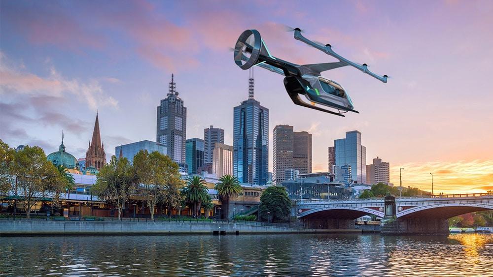 Uber revela primeira cidade fora dos EUA a receber teste de aeronave autônoma. Foto: Divulgação