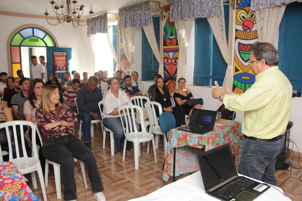 Prefeitura e Sebrae iniciam implantação do Cidade Empreendedora em Correntina. Foto: Ascom – Prefeitura de Correntina/BA
