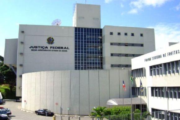 Fachada - Justiça Federal da Bahia. Foto: Reprodução