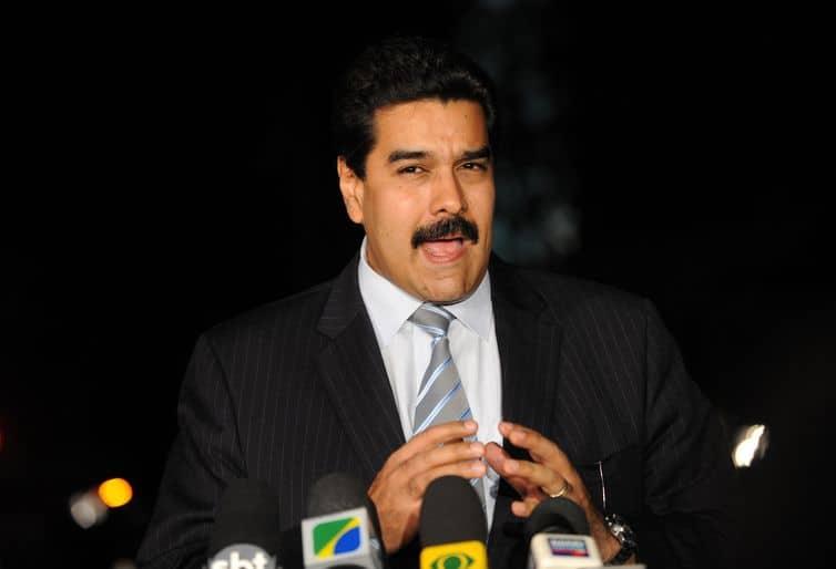 """Nicolás Maduro: """"Somos um povo de paz que defende firmemente nossa independência e autodeterminação"""". Foto: Fabio Rodrigues Pozzebom/Arquivo Agência Brasil"""
