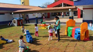 Creche do Proinfância em Ceres, Goiás: Controladoria-Geral da União identificou que maioria das obras do programa contratadas com recursos federais não foi concluída ou foi abandonada. Foto: Senado Federal