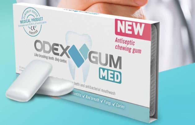 Odex gum. Foto: Divulgação