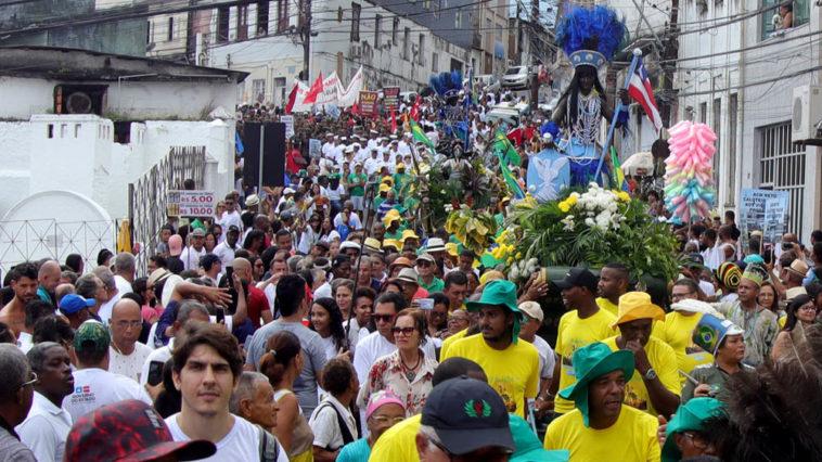 Povo baiano homenageia heróis da independência no 2 de Julho. Foto: Manu Dias/GOVBA