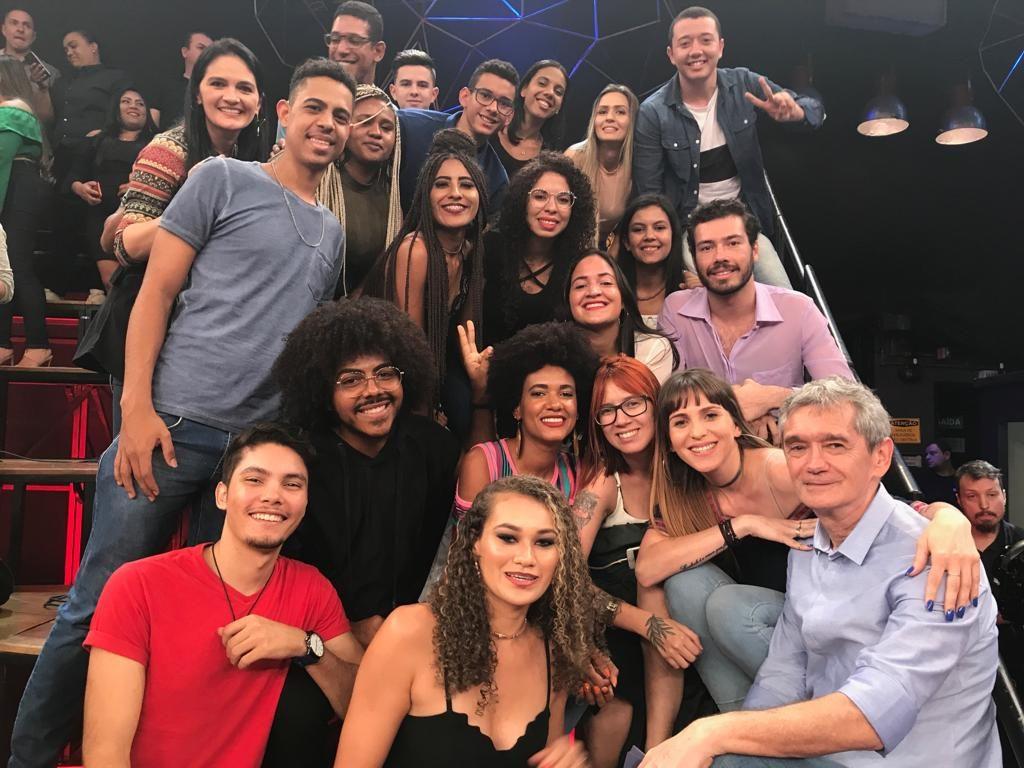 Caravana da FASB no programa Altas Horas da Rede Globo. Foto: Divulgação