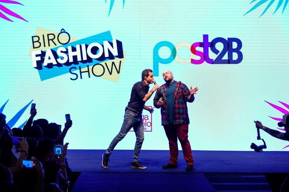 Tiago Abravanel arrasa em desfile de moda ao lado de vários famosos. Foto: Marcelo Verlotta