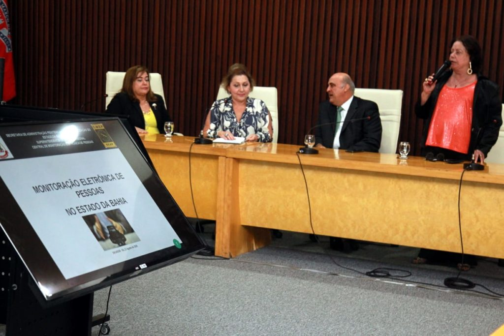 Agressores de mulheres serão monitorados por tornozeleira eletrônica. Foto: SPMBA