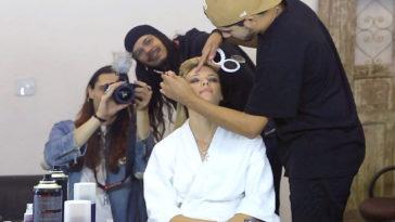 Angel da Victoria's Secret, Fabiana Semprebom grava clipe com MadHouse. Foto: Divulgação