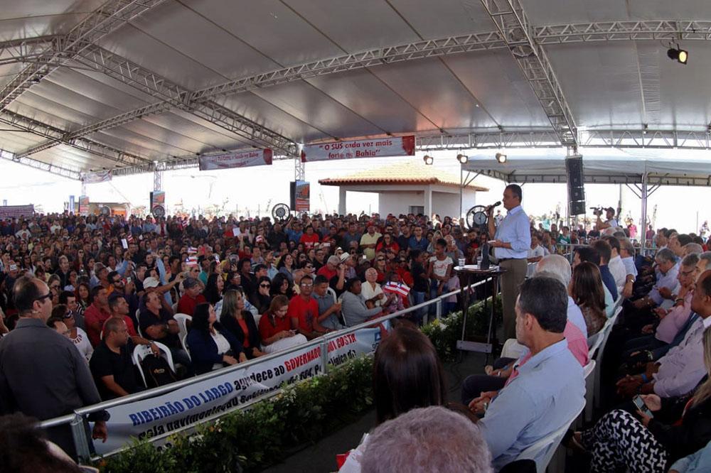 Em Vitória da Conquista, Rui inaugura 11ª Policlínica Regional de Saúde. Foto: Manu Dias/GOVBA