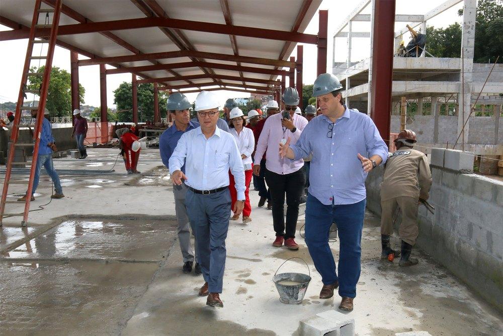 Governo da Bahia realiza maratona inspeções em obras da Saúde. Foto: Divulgação