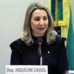 """Deputada Jaqueline Cassol, autora do projeto: """"Os crimes cometidos no ciberespaço possuem uma potencialidade lesiva"""". Foto: Cleia Viana/Câmara dos Deputados"""