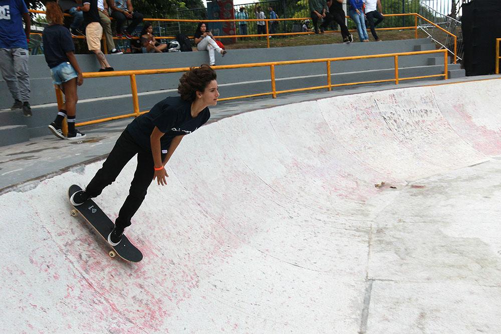 Lauro de Freitas sedia etapa do Circuito Brasileiro de Skate Profissional. Foto: Camila Souza/GOVBA