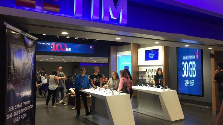 Loja Digital TIM PE. Foto: Divulgação TIM