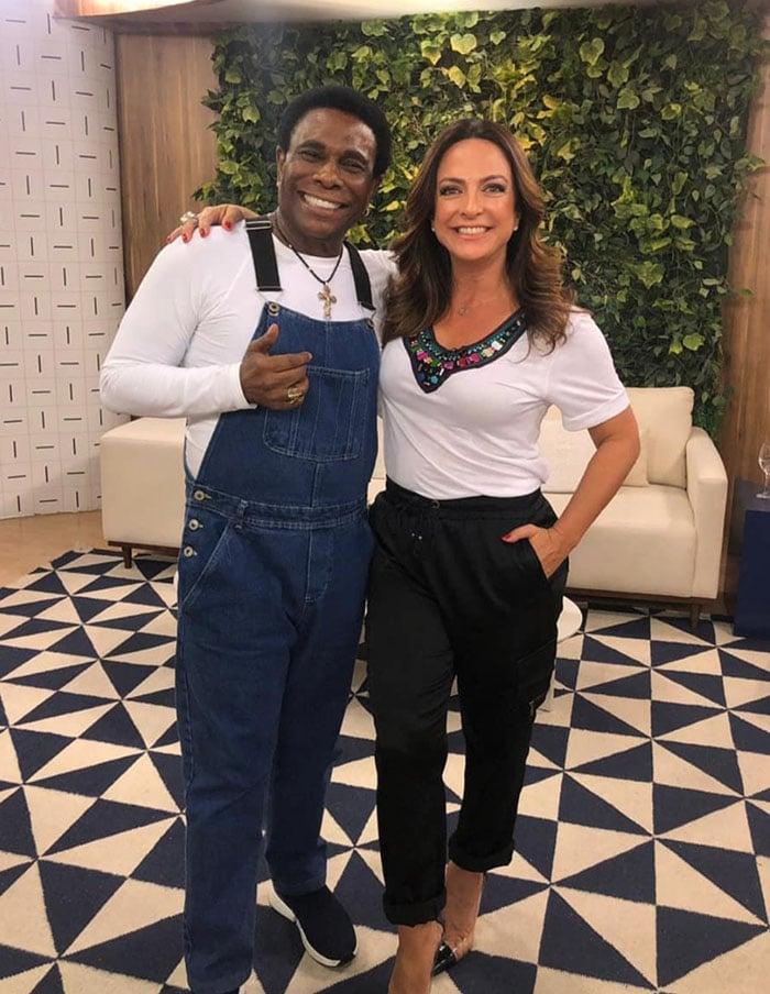 Neguinho da Beija-Flor e Claudia Tenório. Foto: Roneia Forte - Divulgação