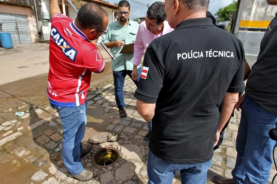 Operação encontra irregularidades em postos de combustíveis na Bahia. Foto: Elói Corrêa/GOVBA