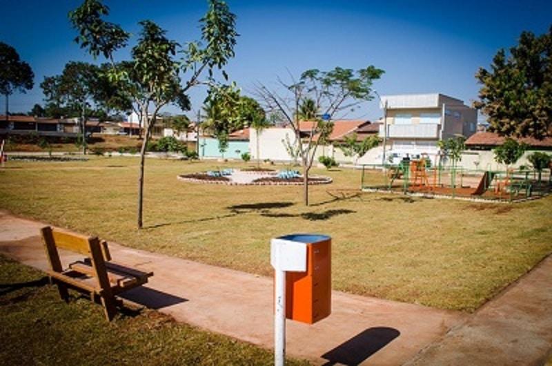 Região Norte de Goiânia ganha nova praça e mais vagas em Cmeis. Foto: Divulgação