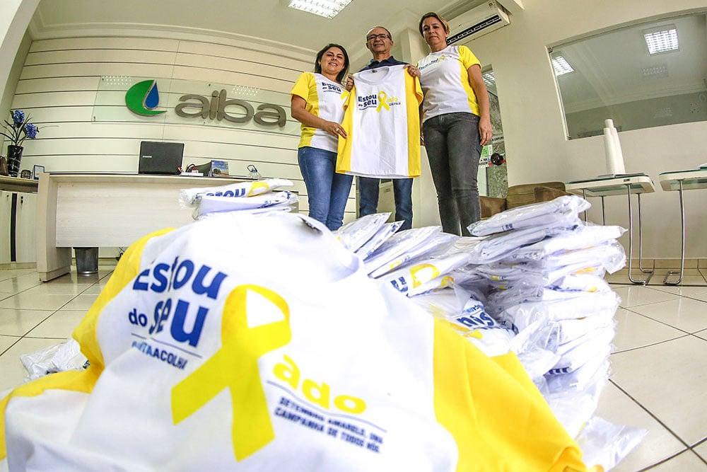 """Aiba e Abapa destinam apoio ao """"Setembro Amarelo"""". Foto: Divulgação"""