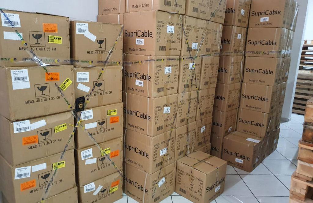 Anatel realiza operação antipirataria em 11 estados. Foto: Divulgação/Anatel
