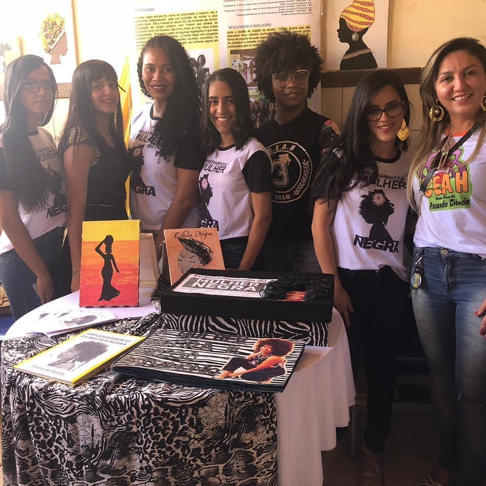 Estudantes de Casa Nova (BA) criam projeto que incentiva a valorização da cultura e ancestralidade negra. Foto: Divulgação