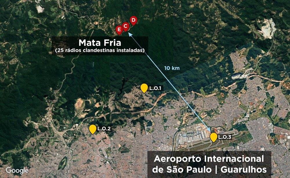 Força-tarefa da Anatel interrompe 25 emissoras clandestinas em São Paulo. Foto: Divulgação/Anatel