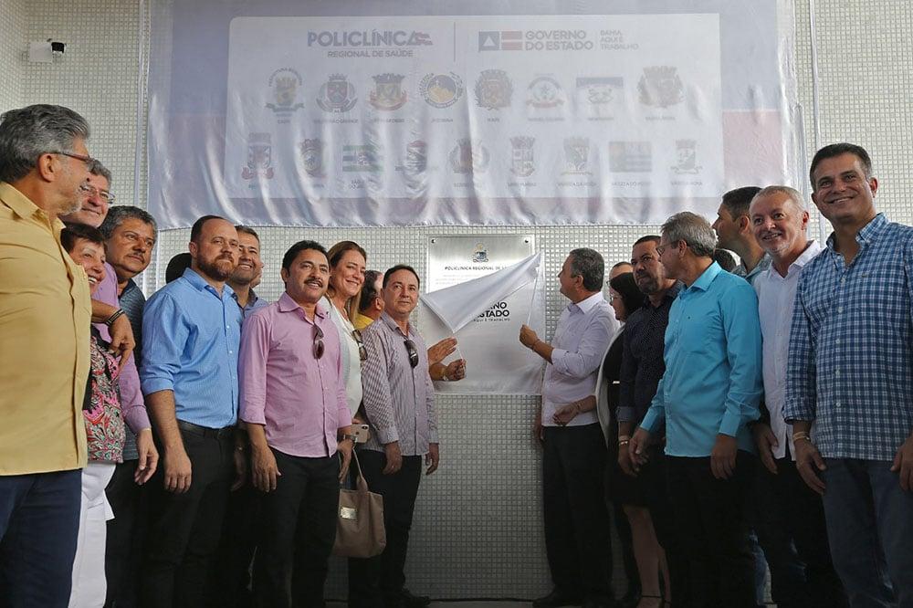 Em Jacobina, Rui entrega 12ª Policlínica Regional de Saúde. Foto: Paula Fróes/GOVBA