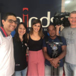 O casal de franqueados da Minds English School, Renata Palomo e Pedro Abreu, tem chamado a atenção da mídia por práticas de TI no mercado do franchising. Foto: Divulgação