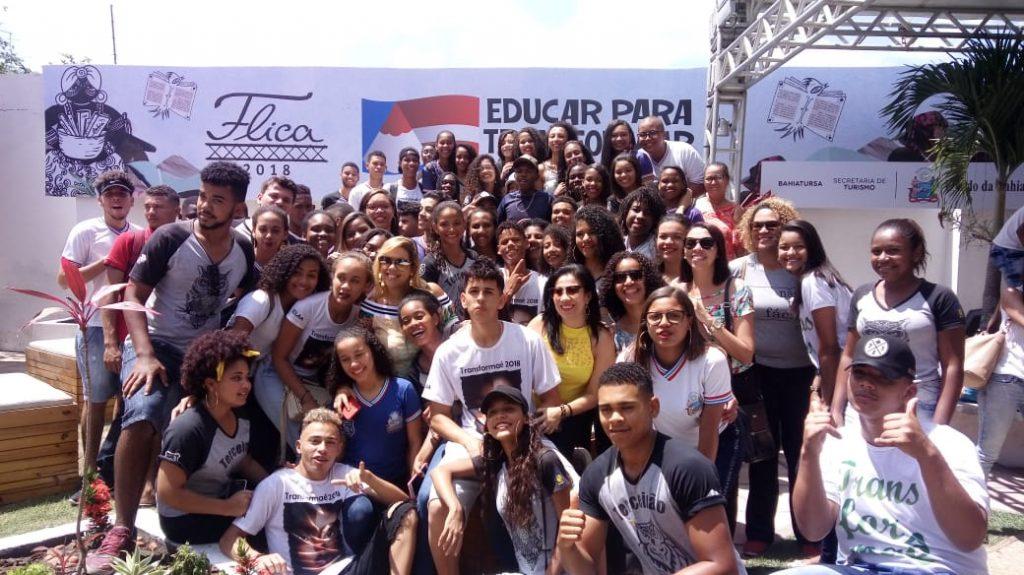 Estudantes apresentam projetos literários, artísticos e culturais na FLICA 2019. Foto: Ilustrativa / Cláudia Oliveira