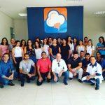 Aula inaugural do curso de assistente administrativo. Foto: Divulgação/Abapa