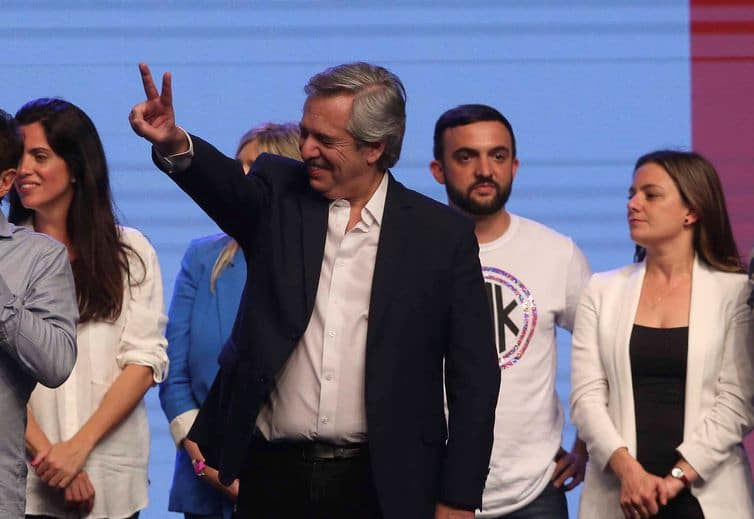 Alberto Fernández, novo presidente da Argentina, vai assumir em 10 de dezembro. Foto: REUTERS/Agustin Marcarian