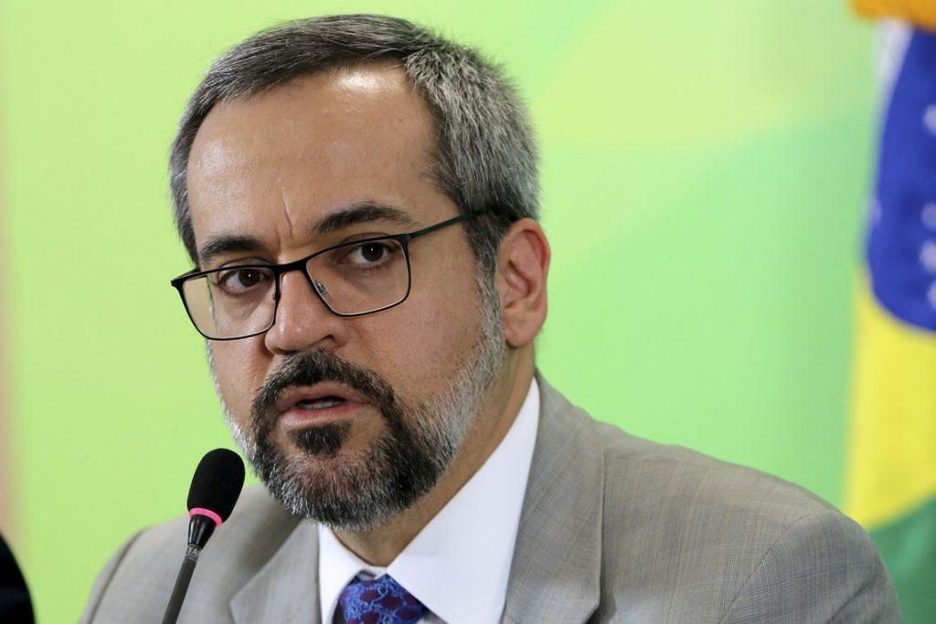 Governo libera orçamento de universidades federais - Ministro da Educação, Abraham Weintraub. Foto: Wilson Dias/Agência Brasil