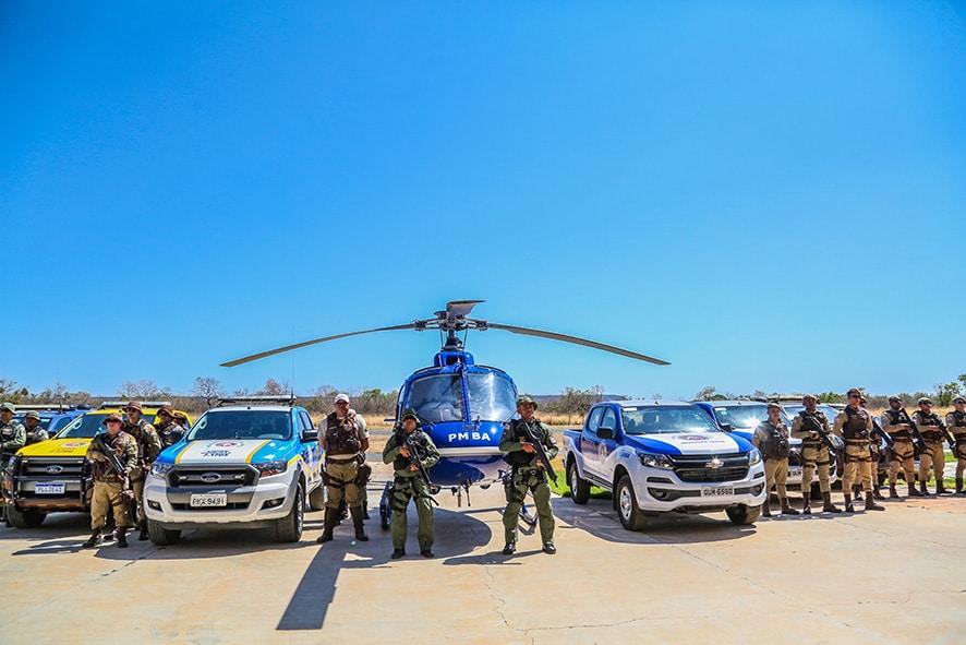 Deflagrada a Operação Safra em municípios do oeste da Bahia. Foto: Divulgação