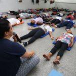 Policiais Militares da Bahia concluem curso de gerenciamento do estresse. Local: Auditório do Colégio da Polícia Militar Lobato. Foto: Elói Corrêa/GOVBA