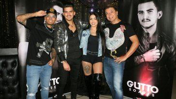 Dynho Alves, Gutto Soares, MC Mirella e David Brazil. Foto: Cleomir Tavares/Divulgação