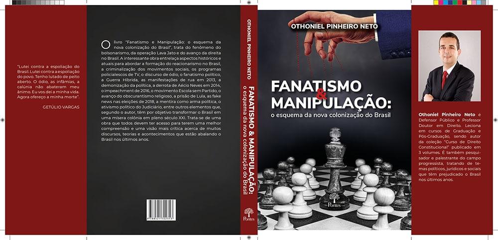 Defensor Público lança livro explorando a face obscura do bolsonarismo e da operação Lava Jato. Foto: Divulgação