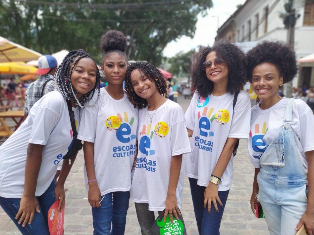 Estudantes da rede estadual protagonizam apresentações literárias e culturais na FLICA 2019. Foto: Charles Carmo