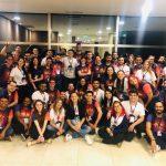 A rede de escolas, Minds Idiomas, capacitou mais de 100 hotéis e restaurantes em Belém p/ o Círio de Nazaré- Gerando empregos nas escolas e nos estabelecimentos de Alimentos bebidas e hospedagens. Foto: Divulgação
