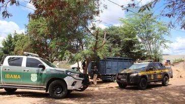 Operação Desdobramento na região da Bacia do Paraguaçu. Foto: Divulgação/PRF