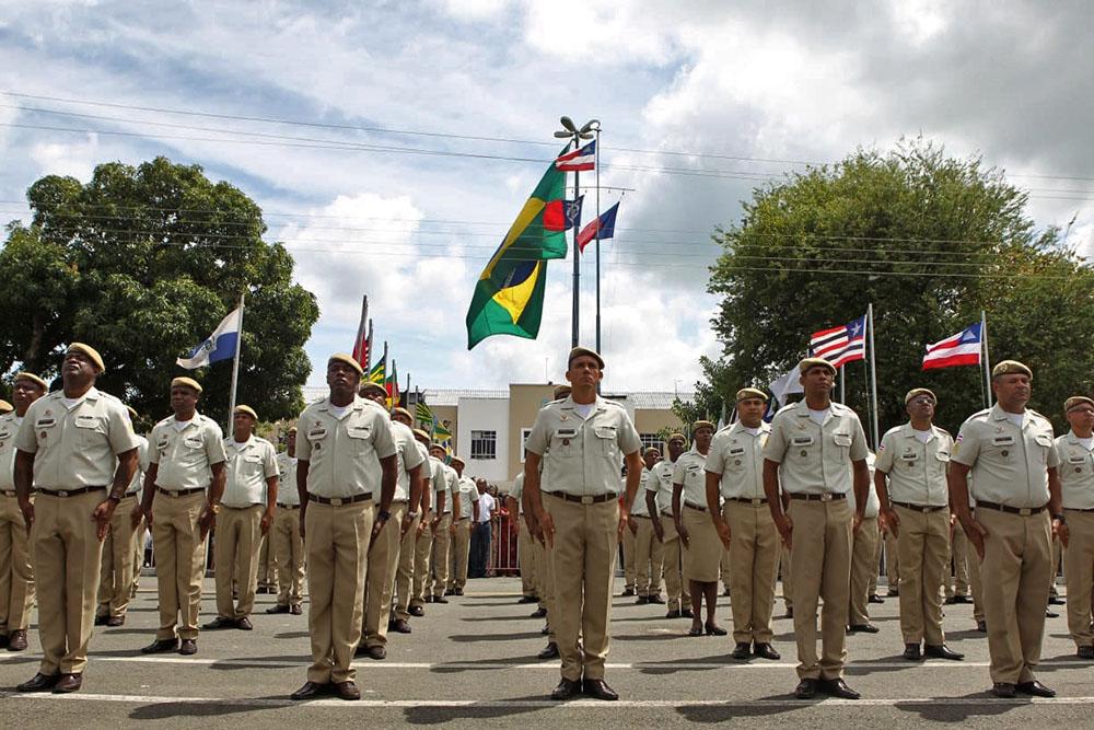 Em quatro anos, Governo do Estado garante promoção de 18,5 mil policiais militares. Foto: Mateus Pereira/GOVBA