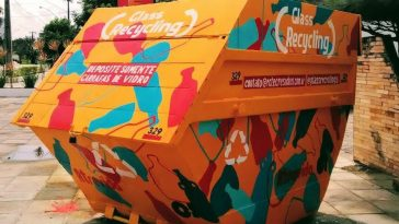 Projeto Glass Recycling. Foto: Divulgação