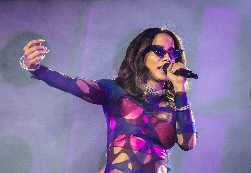 MC Koringa se manifesta após polêmica apresentação de Anitta no Rock in Rio - Anitta. Foto: Reprodução / MF Press Global