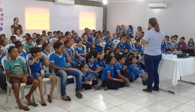 Palestra educativa em Catolândia. Foto: Divulgação