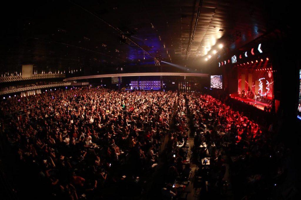 Enzo Rabelo agita público em seu primeiro show em São Paulo. Foto: David Mazzo / Espaço das Américas