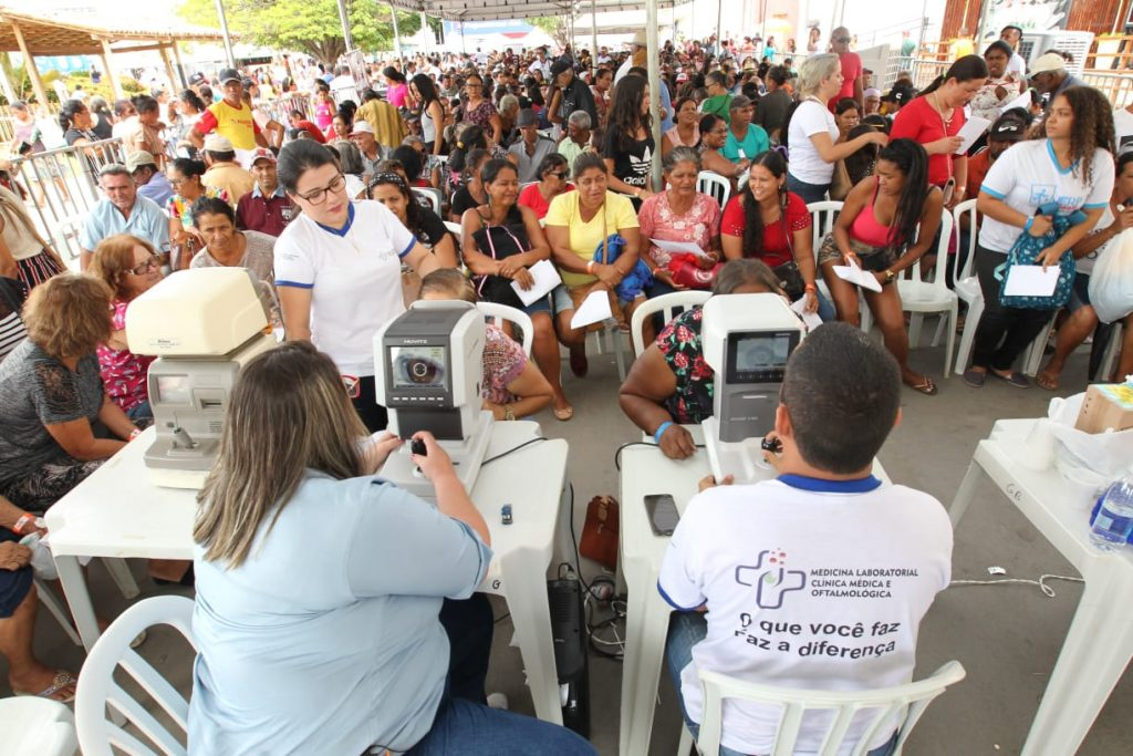 Santa Maria da Vitória recebe Feira Cidadã com previsão de mais de 15 mil atendimentos. Foto: Elói Corrêa/GOVBA
