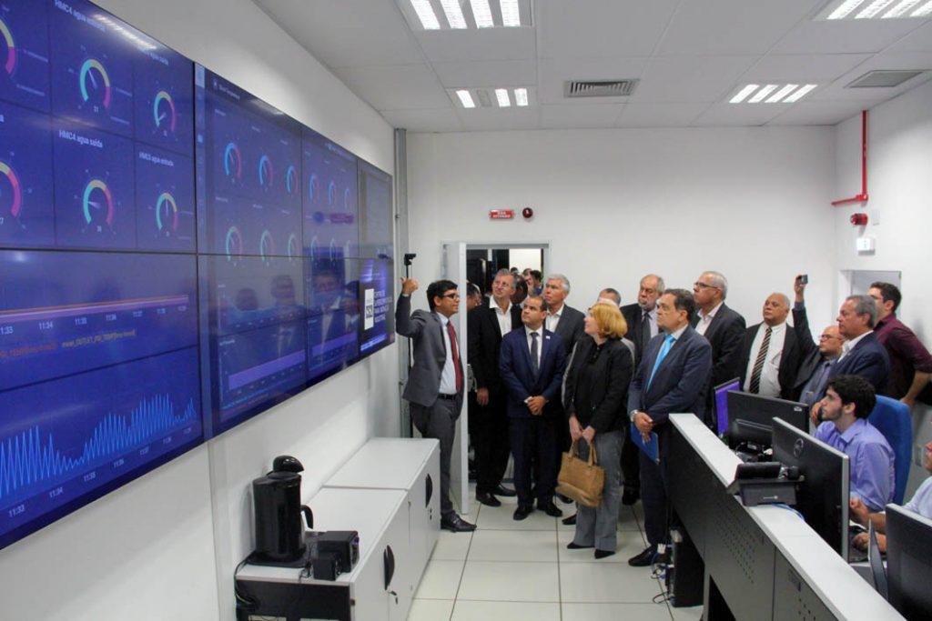 Supercomputador mais potente do país é inaugurado no Cimatec. Foto: Divulgação