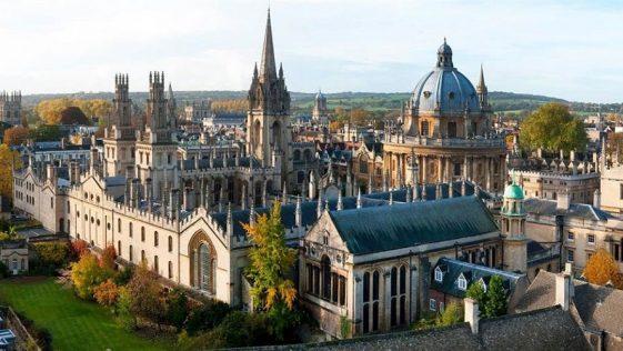 Universidade de Oxford. Foto: Divulgação