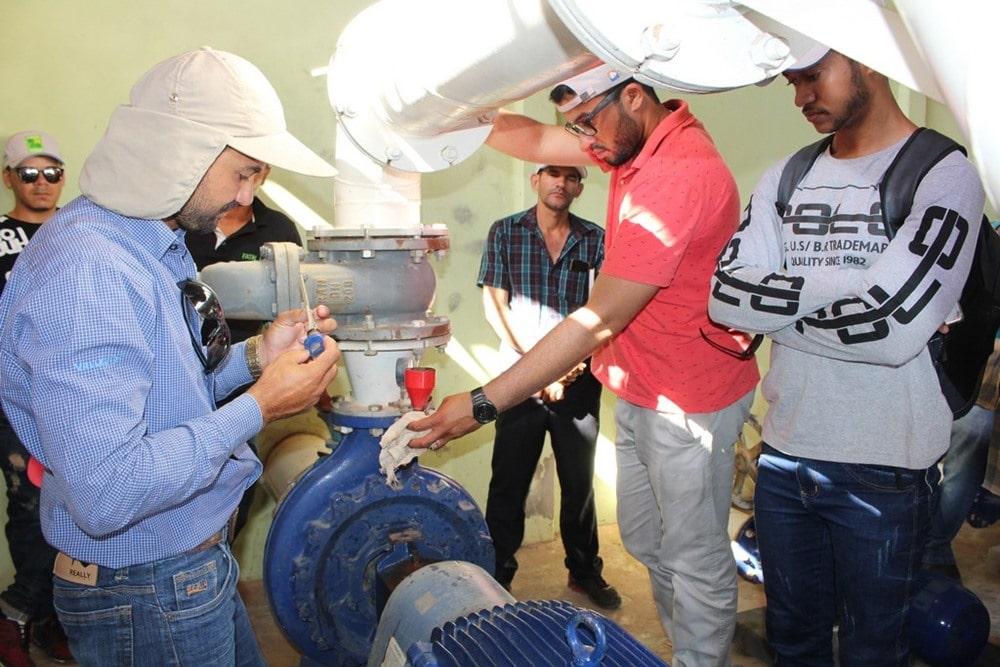 Abapa leva capacitação sobre o pivôs centrais para profissionais de Correntina e Luís Eduardo Magalhães, no Oeste da Bahia. Foto: Divulgação/Abapa