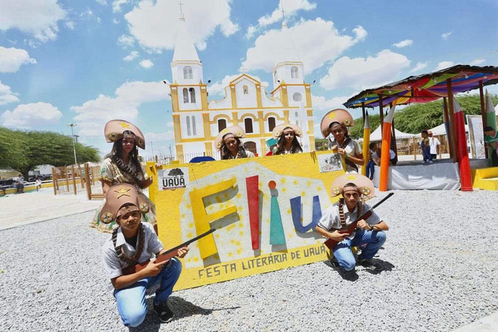 Primeira edição da Festa Literária de Uauá alcança mais de 10 mil de público durante os três dias de evento. Foto: Divulgação